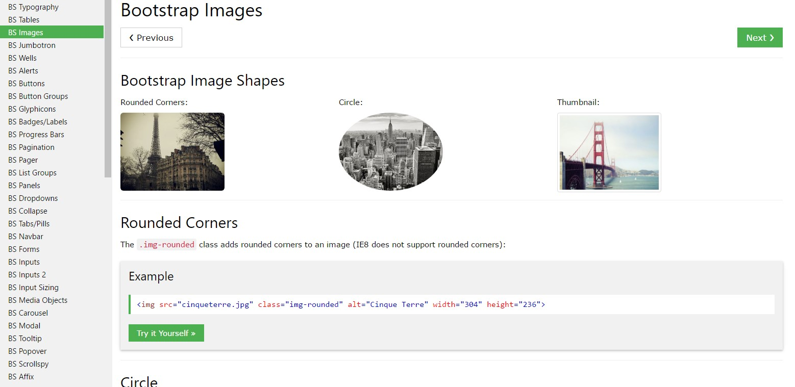 Bootstrap Image Resize