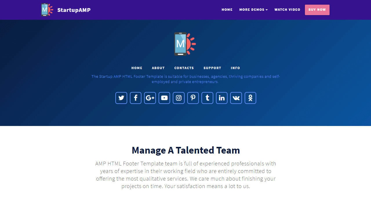 Top 46 Professional and Useful Responsive Templates Collection