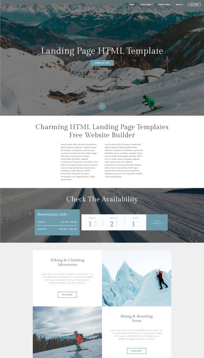 Perfect Website Templates