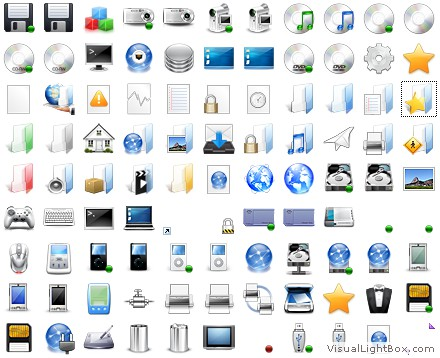 Crystal Devices Icons