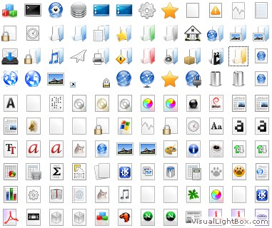 Crystal Filesistem Icons and Mimetype Icons