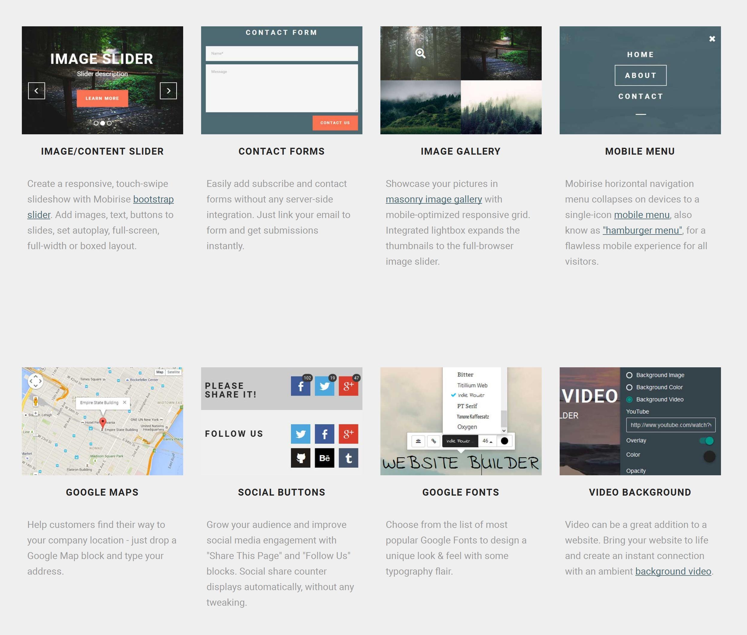Responsive Mobile Website Generator