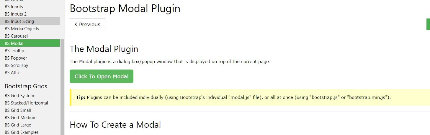 W3schools:Bootstrap modal  information