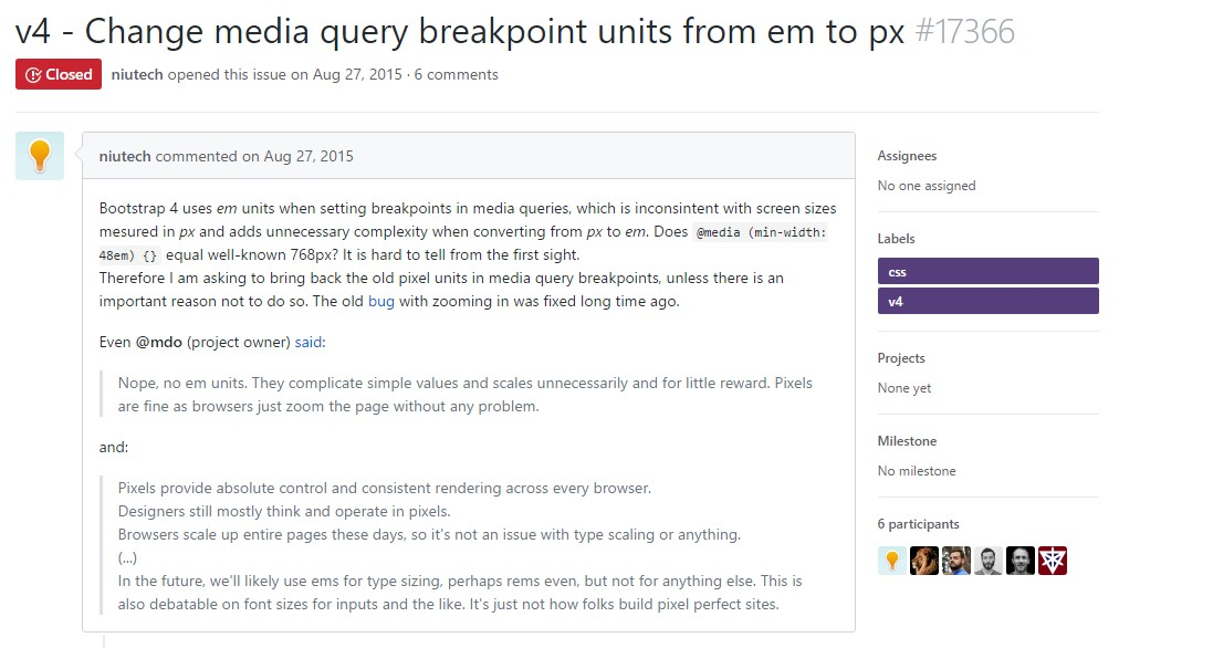 Change media query breakpoint units from <code></div>em</code> to <code>px</code>