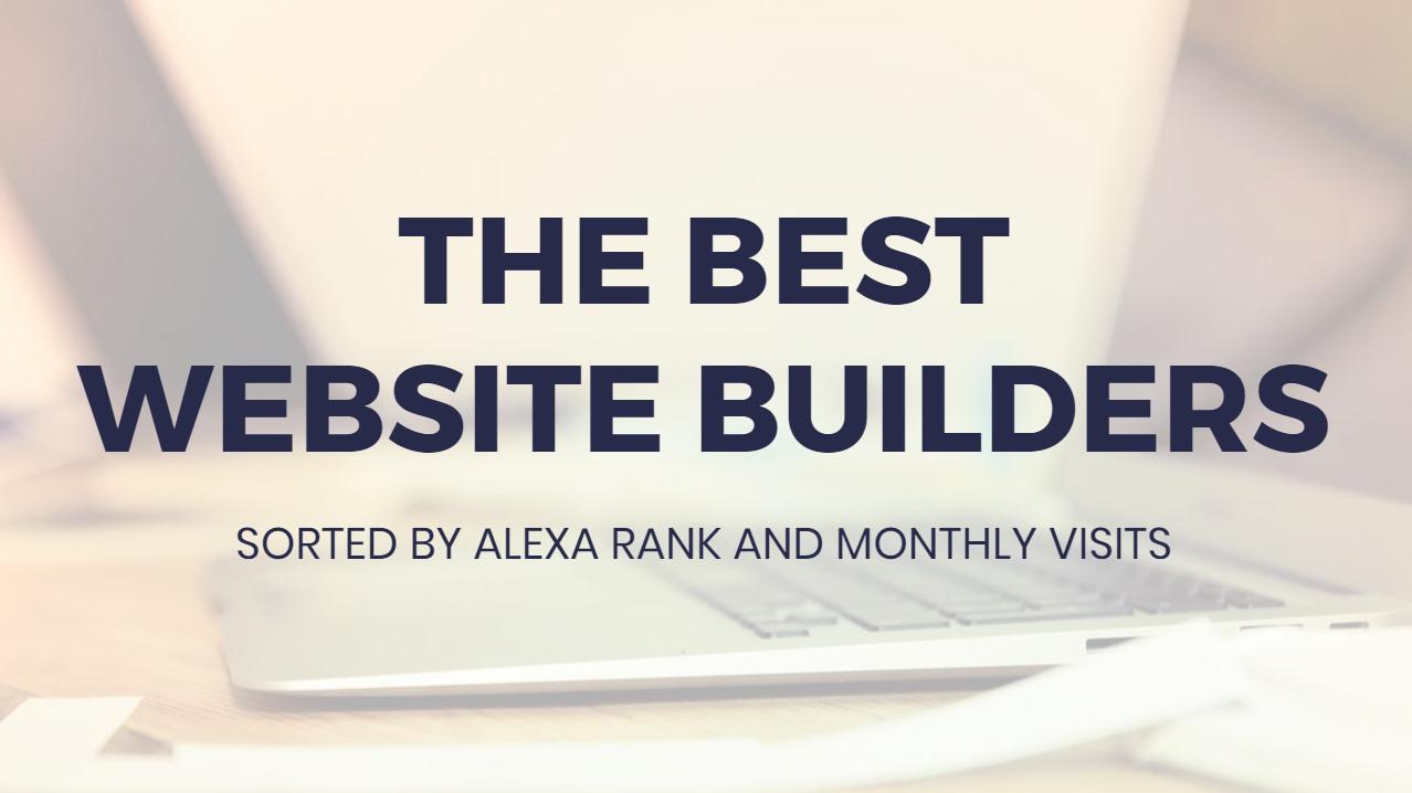 Absolute best  Web Site Builders