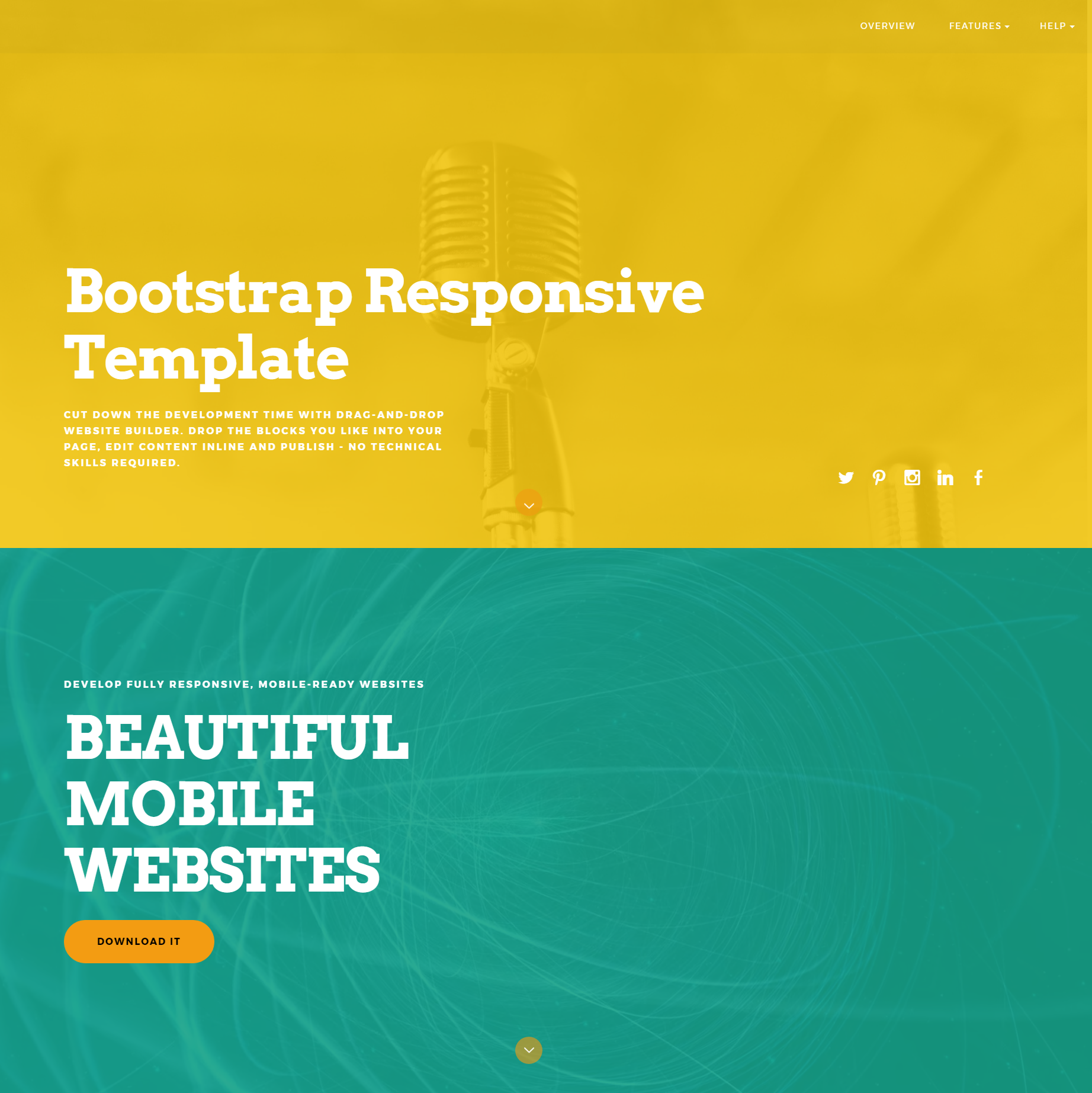 Free Bootstrap Responsive Themes