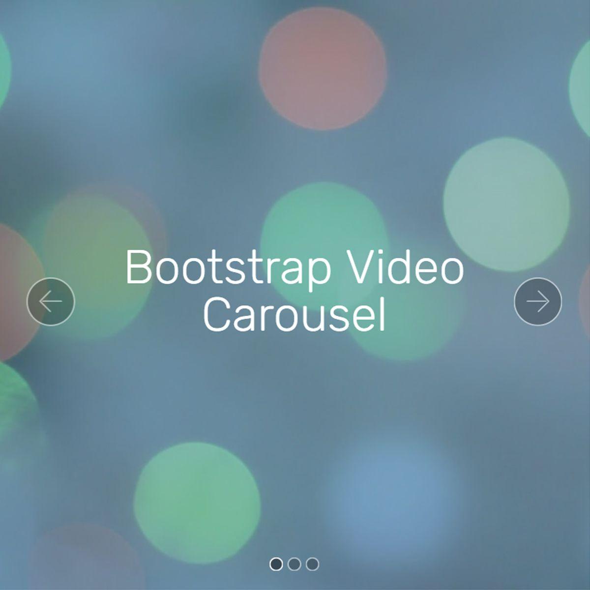 Mobile Bootstrap Photo Slideshow
