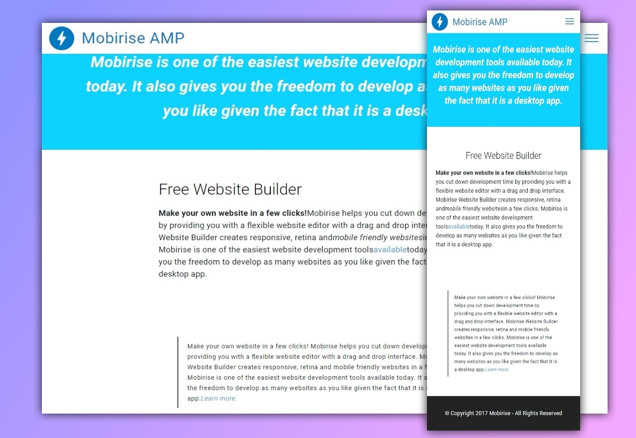 AMP Article