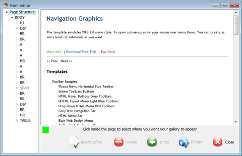 Vista-Buttons com - Buttons for Websites What's New
