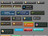 Buttons Toolbars